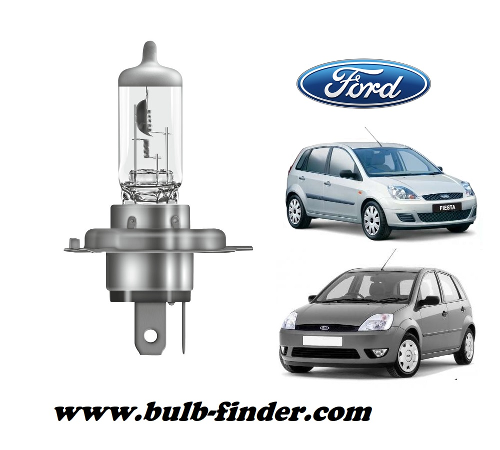Ford Fiesta 5 bulb model LOW BEAM specification