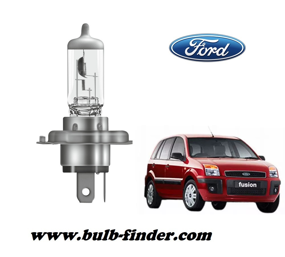 Ford Fusion bulb model LOW BEAM specification