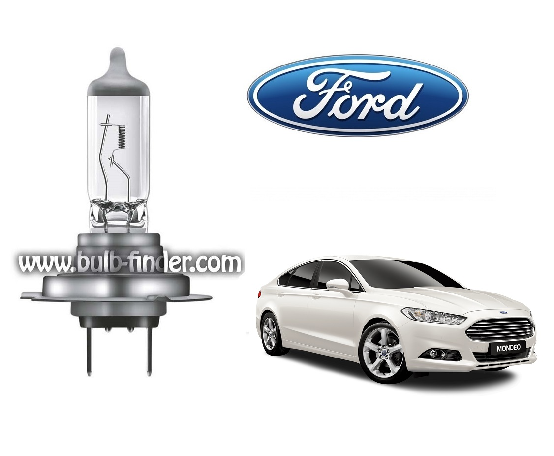 Ford Mondeo 5 bulb model LOW BEAM specification