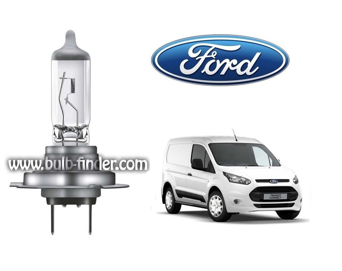 Ford Tourneo Connect 2 bulb model LOW BEAM specification