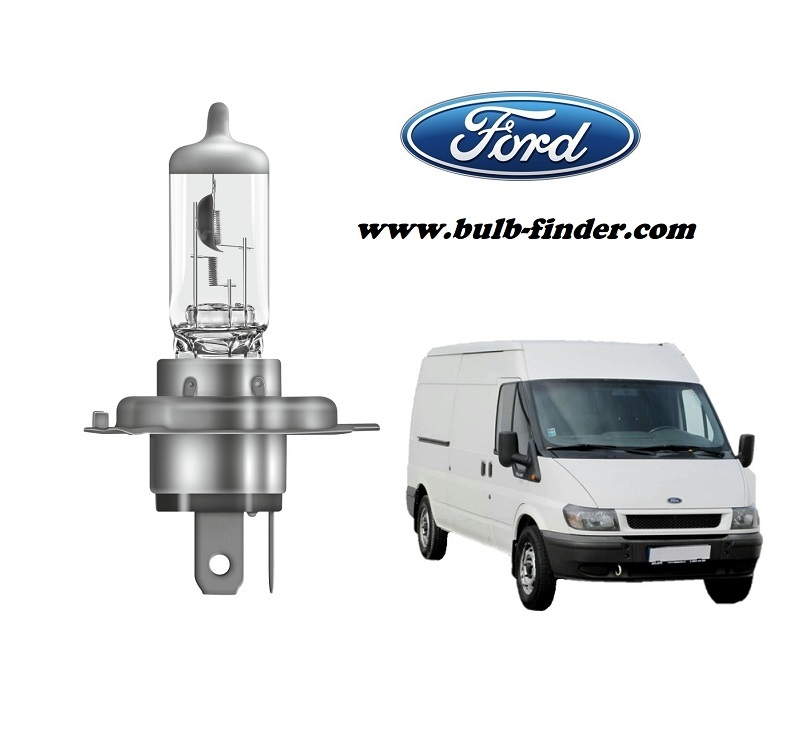 Ford Transit bulb model LOW BEAM specification