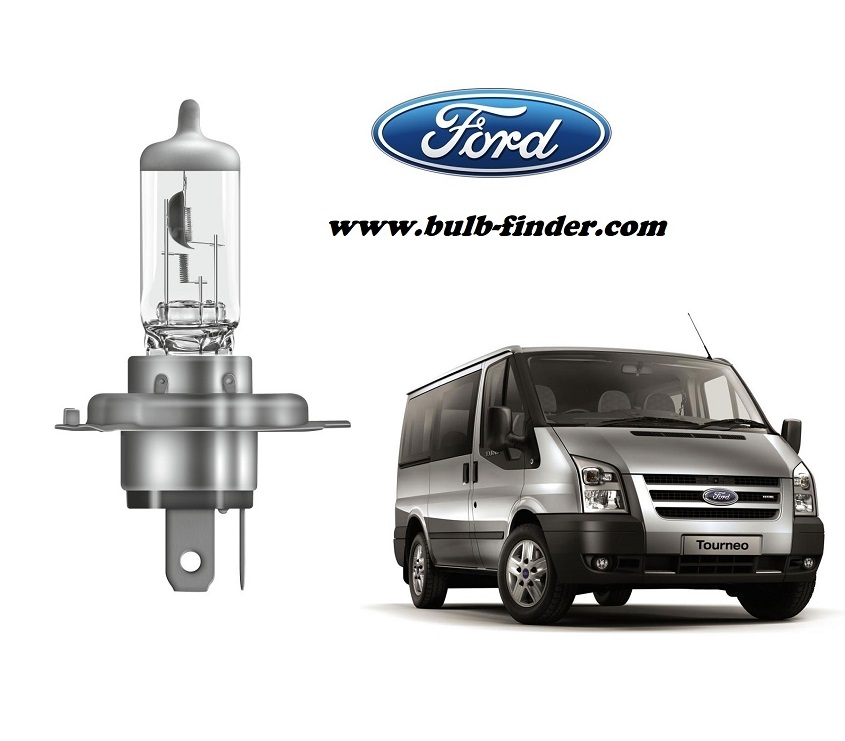 Ford Transit Tourneo bulb model LOW BEAM specification