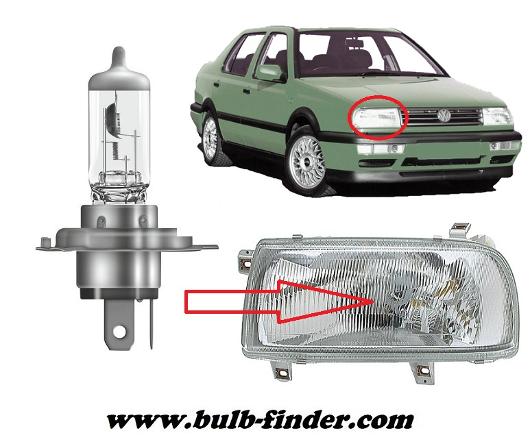 VW Vento bulbs specification for halogen headlamp